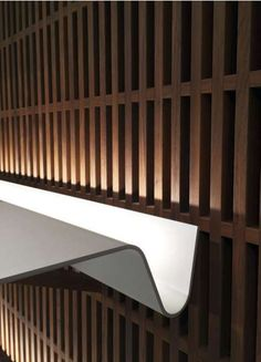 illuminated shelf in Bally London by ViaBizzuno- design David Chipperfield Architects