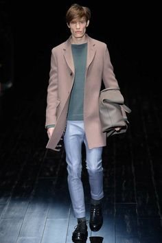 Gucci did Winter coats really well for next Winter! :D | Fall 2014 #Menswear Collection