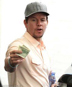 Mark Wahlberg Marky Mark, Actor Mark Wahlberg, Will Ferrell, Bellisima, Beverly Hills, Celebrities, Celebs, Lunch, Actors