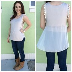 Taupe colored Top