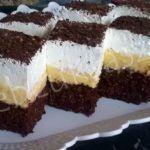 Négyemeletes mennyország Hungarian Desserts, Tiramisu, Cheesecake, Deserts, Food And Drink, Bread, Chocolate, Cooking, Ethnic Recipes