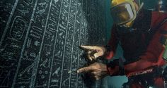 Ancient Greek, Ancient Egypt, Sunken City, Shipwreck, Mediterranean Sea, Alexandria, Archaeology, Underwater, Egyptian