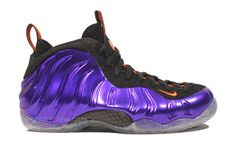 timeless design af387 ad75e Nike Air Foamposite One Electro Purple Total Orange Black