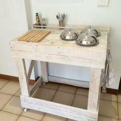 Kücheninsel selber bauen aus Paletten - 31 Modell-Anregungen | Möbel ...