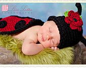 Lady Love Bug Hat and Shell  Photo Prop Set. $34.95, via Etsy.