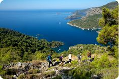 Blue Cruise activities: Enjoy hiking during your luxury gulet cruise