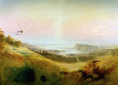 John Martin England) Dramatic landscapes 1 John Martin was an English Romantic painter and one of the most popular artists of his day. Landscape Art, Landscape Paintings, Landscapes, English Romantic, Most Popular Artists, John Martin, Heaven And Hell, Book Of Life, Pilgrim