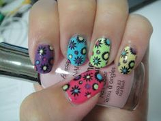 enamel girl's nail art stamping contest entry! fingers crossed x