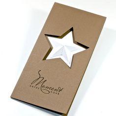 3-D star in star cutout