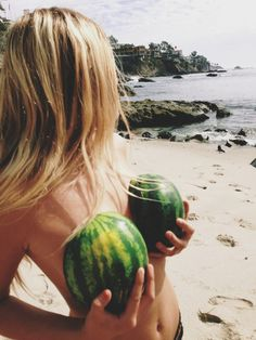 Nice watermelons babe. Make sure you look after your skin with me xx