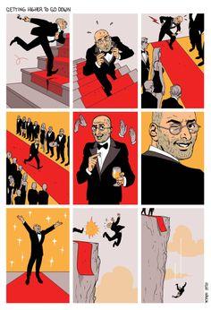 Asaf Hanuka's the realist -  The Secret of Success 8/09/12