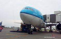 "Close Up KLM Asia ""Hadrian's Wall"" Boeing 777-206(ER) - GYE 2016 - John Orellana (@johnjotaO) | Twitter"