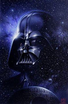 Darth vader artwork, darth vader tattoo, star wars raumschiffe, star wars d Star Wars Fan Art, Star Wars Film, Star Wars Poster, Star Trek, Darth Vader Star Wars, Anakin Vader, Darth Vader Images, Darth Sith, Darth Vader Artwork