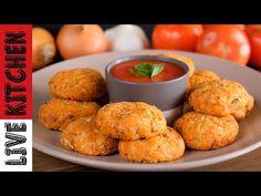 Νηστίσιμοι Αλάδωτοι Ντοματοκεφτέδες στον Φούρνο σε 15' !!!Amazing Vegan Tomato Balls(oil-free)at 15' - YouTube Kitchen Living, Easy Cooking, Dairy Free, Muffin, Vegan, Breakfast, Recipes, Youtube, Food