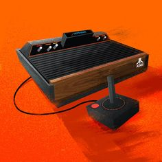 Vintage Game Consoles by James White, via Behance