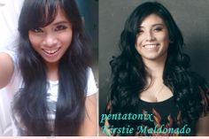 I post my pictures on my Instagram account and someone told me that I look like Pentatonix, Kirstie Maldonado. I wonder 'Do I really look like her?'  #pentatonix #kristiemaldonado