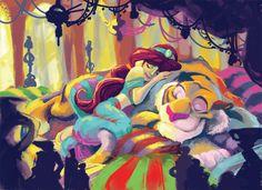 Coloring Book: Jasmine by ~CrackedClockwork on deviantART