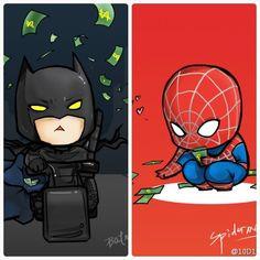 Batman n spiderman