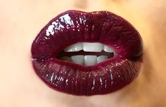1 layer Purple Reign- 2 layers Berry. LipSense all day color! ❤️ Makeup