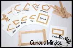 Making Shapes with Popsicle Sticks OR by CuriousMindsBusyBags
