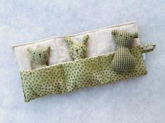 Plüschtierchen mit Bett