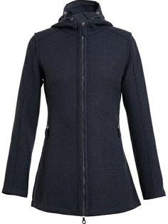 FRAUENSCHUH Soraya Boiled Wool Parka Coat