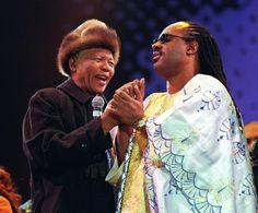Stevie Wonder & Nelson Madela