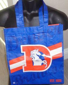 3457ea38ed1673 NFL Denver Broncos OLD Logo Reusable Shopping/ Grocery bag  #ForeverCollectibles #DenverBroncos