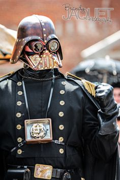Steampunk Vader at the Big River Steampunk Festival Hannibal, Missouri