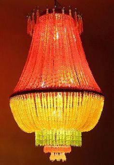 eatable lamp...made off Gummibears    Woehoe