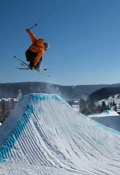 When you (or your kids) want to get your jib on, here's a list of the resorts with the best terrain parks in North America.