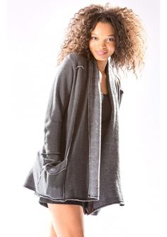 Hard Tail Forever - Slouchy Cardigan