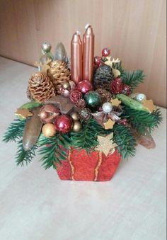 Christmas-Karácsonyi asztaldísz