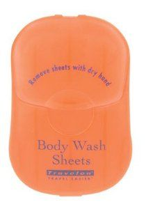 Travelon Body Wash Toiletry Sheets, 50-Count http://travelfashiongirl.com/shop  #travel #accessories