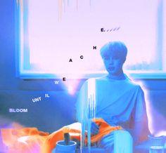 "Jimin @BTS LOVE YOURSELF 承""Her"" art #serendipity"