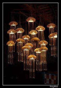 Jellyfish lights by a-free-mind on DeviantArt