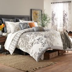 KAS® Isaak Duvet Cover, 100% Cotton - Bed Bath & Beyond