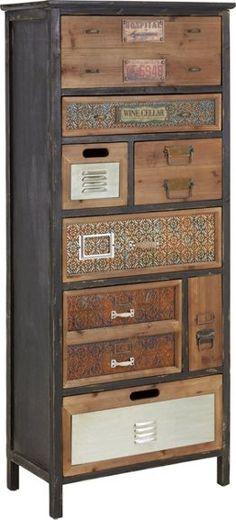 Kommode aus Echtholz - das Accessoire mit Stil und Stauraum