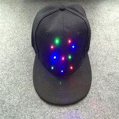 5f62a1542347c LED light Baseball cap hip-hop Hat