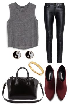 A fashion look from July 2015 featuring curved hem shirt, skinny fit pants and high heel ankle boots. Browse and shop related looks. Yin Yang, Victoria, Shoe Bag, Polyvore, Stuff To Buy, Shopping, Shoes, Collection, Design