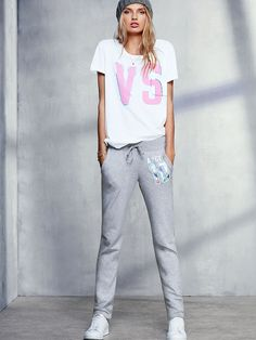 Straight-leg Pant - Fleece - Victoria's Secret