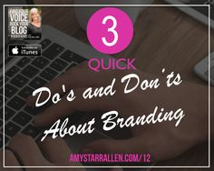 do's and don'ts about branding