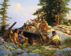 Native American art prints by Howard Terpning Native American Paintings, Native American Artists, Indian Paintings, Native American Indians, Plains Indians, Native Indian, Native Art, American Indian Art, American History