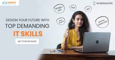 You need to have top technical skills to make a place for yourself in the highly competitive tech industry. Learn the top demanding IT skills with us and secure your future career. Get a 20% discount on all IT courses. #Career #FutureCareer #TechnicalSkills #ITSkills #CareerinIT #ITCourses #ITTrainingInstitute #KarmickInstitute Seo Digital Marketing, Future Career, Career Opportunities, App Design, Tech, Learning, Studying, Teaching, Application Design
