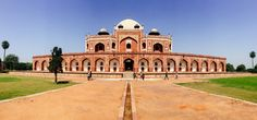 Clicked at the Humayun's Tomb, the closer you get to the monument, the more you feel like staring it and admiring the details. #oyorooms
