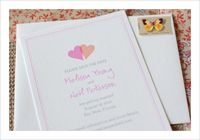 Free printable Save the Date cards! Lets you customize the names, date and location.