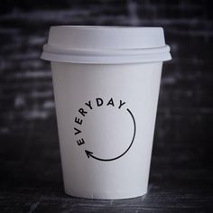 """Coffee cups of The World on Instagram: """"Everyday Coffee, Melbourne. @everydaycoffee submission @willvink Coffee,work, repeat! #coffeecup"""""""