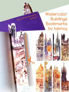 I came up today for an idea of making bookmarks for you guys, but now I'm not sure if it was such a great idea, because I don't know if you like it.Anyways, I've made them of best parts (in my opin...