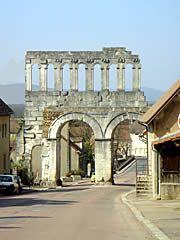 Porte dArroux Autun, Burgundy, France