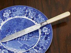 英国アンティークシルバープレートナイフカトラリー8252 インテリア 雑貨 家具 Antique cutlery ¥5000yen 〆04月30日